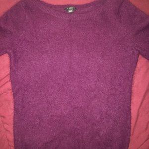 Ann Taylor cashmere short sleeve top